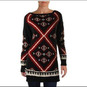 Lauren Ralph Lauren southwest design sweater